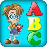 Buchstaben lernen für Kinder - 3 in 1 Spiele für das Studium Alphabet mit Sounds, Bildern und Früchte
