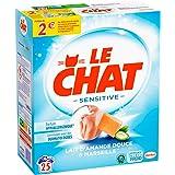 Le Chat Sensitive – 25 Lavages (1.625kg) – Lessive en Poudre Hypoallergénique Lessive hypoallergénique