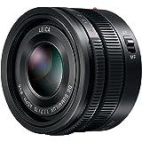 Panasonic H-X015E LEICA DG SUMMILUX 15 mm F1.7 ASPH. Objektiv (Festbrennweiten Objektiv, Bildwinkel 72°, Filtergröße 46 mm) schwarz
