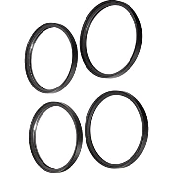 Polaroid Optics 58mm 4 Piece Close Up Filter Set (+1, 2, 4, 10)