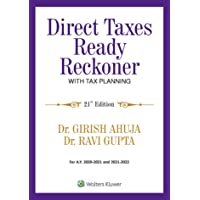 Direct Taxes Ready Reckoner for AY 2020-2021 & 2021-2022