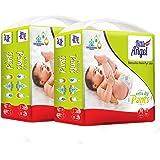Little Angel Baby Diaper Pants, Medium - 148 Count