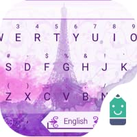 Love in Paris Theme&Emoji Keyboard