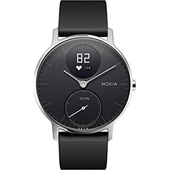 Nokia Steel HR Hybrid Smartwatch – Activity, Fitness and Heart Rate tracker
