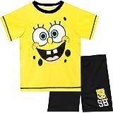 SpongeBob Squarepants Pijamas de Manga Corta para niños Bob Esponja
