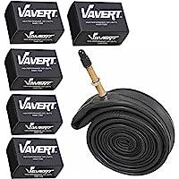 Vavert 700 x 18-25c Road Bike Inner Tubes - Presta Valve (Pack of 5)