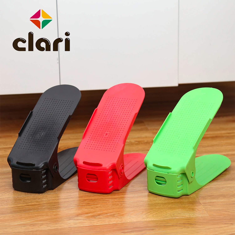 CLARI Organizer Scarpe,Scarpiera Salvaspazio,Porta Scarpe Plastica,Scarpe Organizer 8 Pezzi,Organizer Scarpiera scarpiera Armadio//Ingresso//cameretta