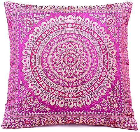Rani Rosa Farbe (Rani Pink) Indische Seide