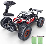 RC Car, SPESXFUN 2019 Updated 1/16 Scale High Speed Remote Control Car, 2.4Ghz Off Road RC Trucks with Two Rechargeable Batte