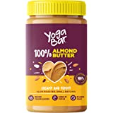 Yogabar 100% Almond Butter | Creamy & Yummy | Slow Roasted | Non-GMO Premium Almonds | No Added Sugar 400g