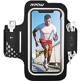 Mpow Fascia da Braccio Portacellulare per Correre, Sweatproof Porta Cellulare Braccio per iPhone 11 Pro/11/XR/XS/X/8/7, Galax