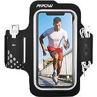 Mpow Fascia da Braccio Portacellulare per Correre, Sweatproof Porta Cellulare Braccio per iPhone 11 Pro/11/XR/XS/X/8/7…