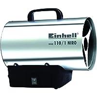 Einhell Heißluftgenerator HGG 110/1 Niro (DE/AT) (Heizmantel aus verzinktem Stahlblech, Gehäuse aus Nirostablech…