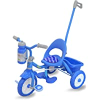 Fun Ride Tricycle for Kids - 2-in-1 Viva Deluxe Tri-Cycle with Sipper, Removable Parental Control Handle - Perfect…