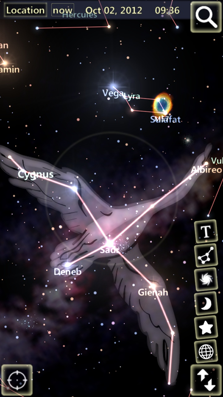 StarTracker Sky Map App Android on google android, game android, evernote android, gmail android, skype android, chrome android,