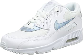 Nike Air Max 90 Mesh Gs 833418-100 Kinder, Weiß