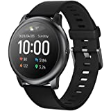 Haylou Solar Smart Watch for Apple iOS iPhone and Android Phones for Men and Woman, Health and Fitness Tracker Smartwatch wit