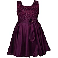Wish Karo Baby Girls Frock Birthday Dress for Girls - Lycra - (fe2644)