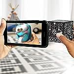 Merge Cube : Mantenga un Holograma, Funciona con Gafas VR/AR e Incluye Juegos y Aplicaciones de AR gratuitos en los...