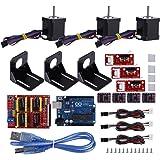 3D Drucker DIY Kit CNC Modul Kit Schild Board Zerlegt Teile Schrittmotorantrieb für Kuman UNO R3 Arduino DIY Druck Kits