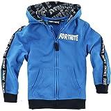 Fortnite Hoodie for Boys Grey Sweatshirt for Gamers Long Sleeve Jumper Skull Trooper Top Age 9-16