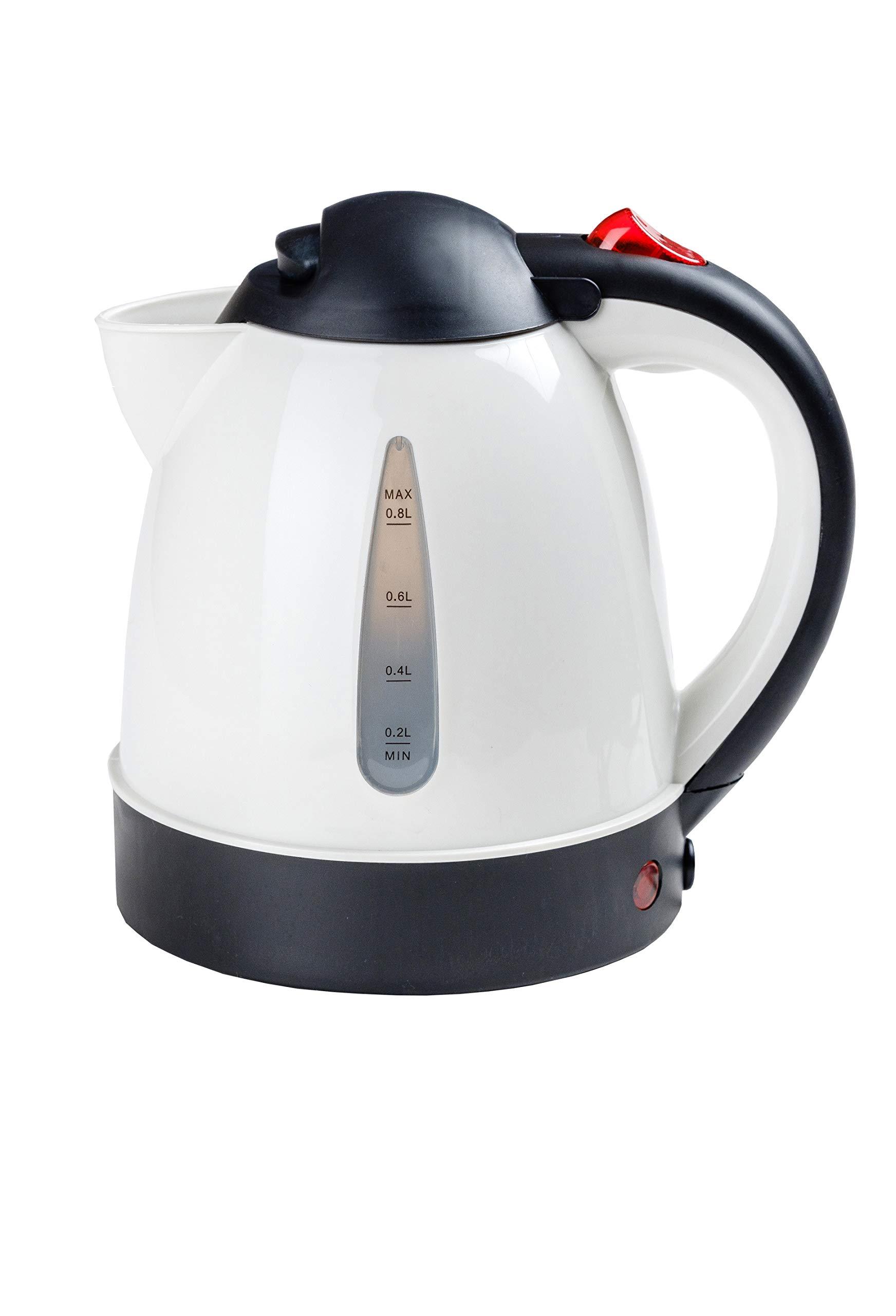 AR-LKW-Wasserkocher-24-Volt-250W-08-Liter-Bestens-geeignet-fr-Kaffee-Tee-Suppe-Vieles-mehr