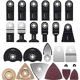 CGBOOM Zaagbladenset, 105-delig, oscillerende accessoireset multifunctionele gereedschapsset voor fijne multimaster, Dremel,
