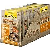جيم دوغ كرات لحم الدجاج والجزر وبذور الكتان غني بالألياف والفيتامينات والمعادن للكلاب ، 70 غم