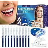 Kit de Blanqueamiento Dental Gel,Blanqueador de Dientes,Teeth Whitening Kit,Blanqueador Dientes Gel,Contra Dientes Amarillos,