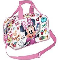 Karactermania Minnie Mouse OhMy!-Sac de Sport Borsa sportiva per bambini, 38 cm, Multicolore (Multicolour)