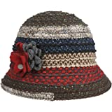 Lierys Cappello Cloche Ronia Wool Donna - Made in Italy Lana da Autunno/Inverno