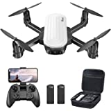 Potensic Elfin Mini Drone para niños, cámara 2K, 20 Minutos de Vuelo, 2 batería con Bolsa de Transporte, Adecuado para Interi
