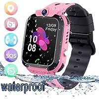 Bambini Smart Watch Impermeabile - GPS/LBS Tracker Phone Orologio Intelligente Phone con giochi per fotocamera Touch…