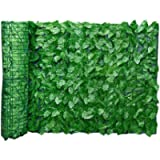 Artificial Screening Ivy Leaf Hedge Panels On Roll Privacy Garden Fence Garden Fence Wall Privacy Screening Hedge 0.5m x…