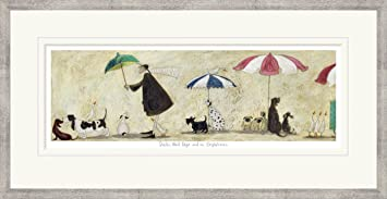 ducks mad dogs and an englishman limited edition print by sam toft framing