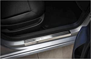 tuning-art EX136 Protections de seuils de Portes de Voitures avec Un Lettrage Exclusive