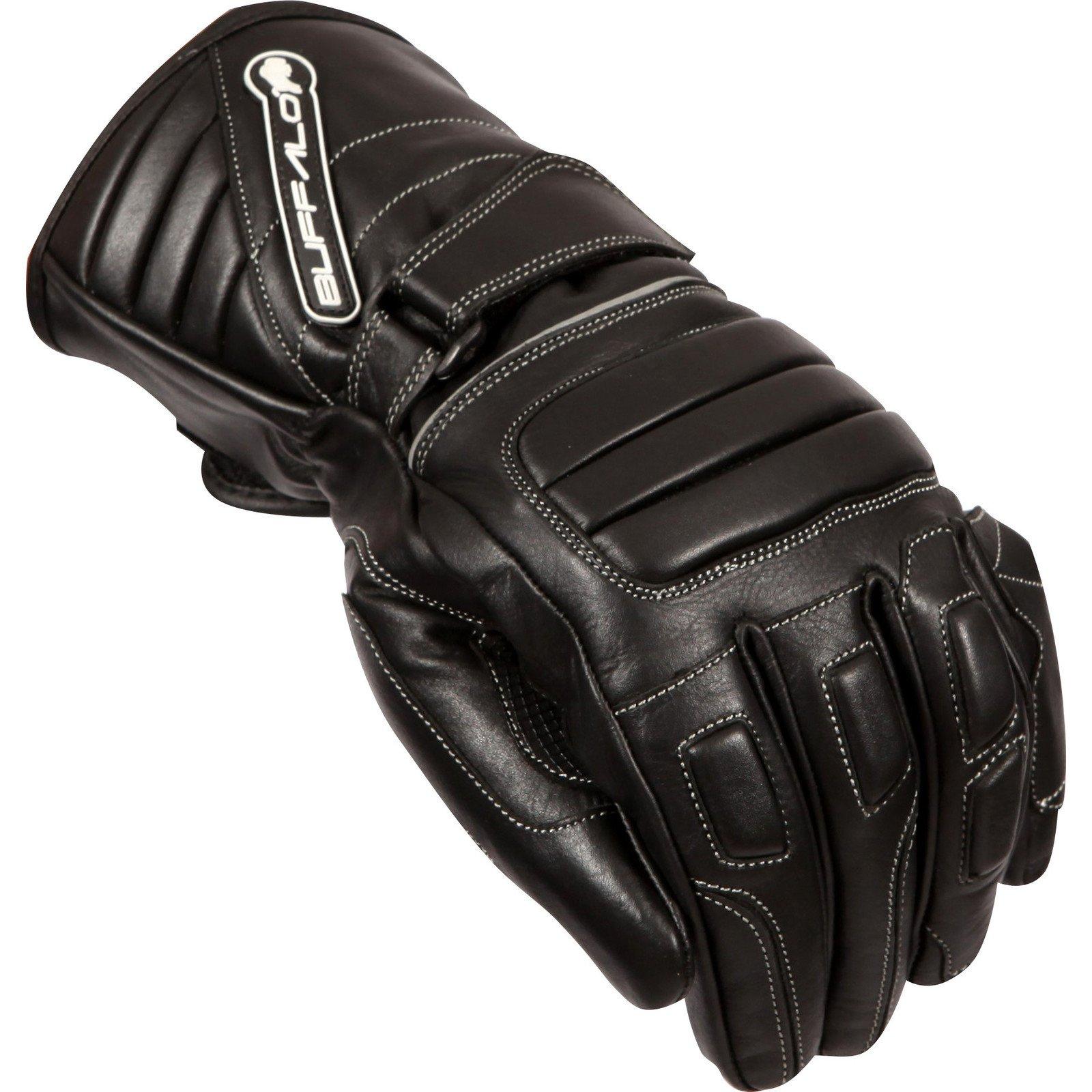 Buffalo Arctic Motorcycle Gloves XL Black