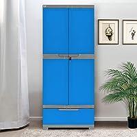 Nilkamal Freedom FMDR1B Plastic Cabinet with 1 Drawer Blue