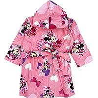 sun city Accappatoio Minnie Bambina 2-3 anni 4-5 anni 6-7 anni 100% cotone