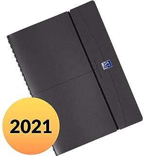 Oxford Student Sch/ülerkalender 2020 2021 Wochenspender 15x21 Orange