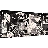 canvashop Quadri Moderni Picasso Guernica cm 120x60 Stampa su Tela Canvas Quadro Moderno Soggiorno