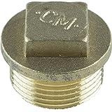 Cornat messing plug 3/8 inch, TEC396700 3/4 inch