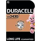 Duracell Specialty 2430 Lithium-Knopfzelle 3 V, 1er-Packung (CR2430 /DL2430) entwickelt für die Verwendung in…