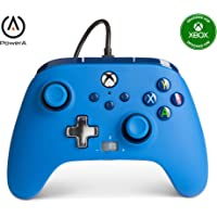 PowerA Enhanced Wired Controller for Xbox - Blue, Gamepad, Wired Video Game Controller, Gaming Controller, Xbox Series X…