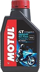 Motul 3000 4T Plus 10W30 Engine Oil for Bikes (1 L)