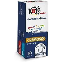 Kosè by Kimbo Capsule Cremoso Compatibili Nespresso, 10 Astucci da 10 Capsule