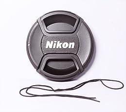 OMAX 55mm Replacement Front Lens Cap for Nikon AF-P (Black)