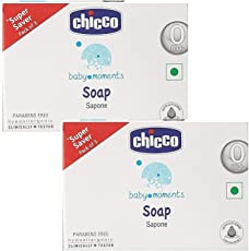 Chicco Super Saver Baby Soap Pack (6 Soap of 100 Gms Each)
