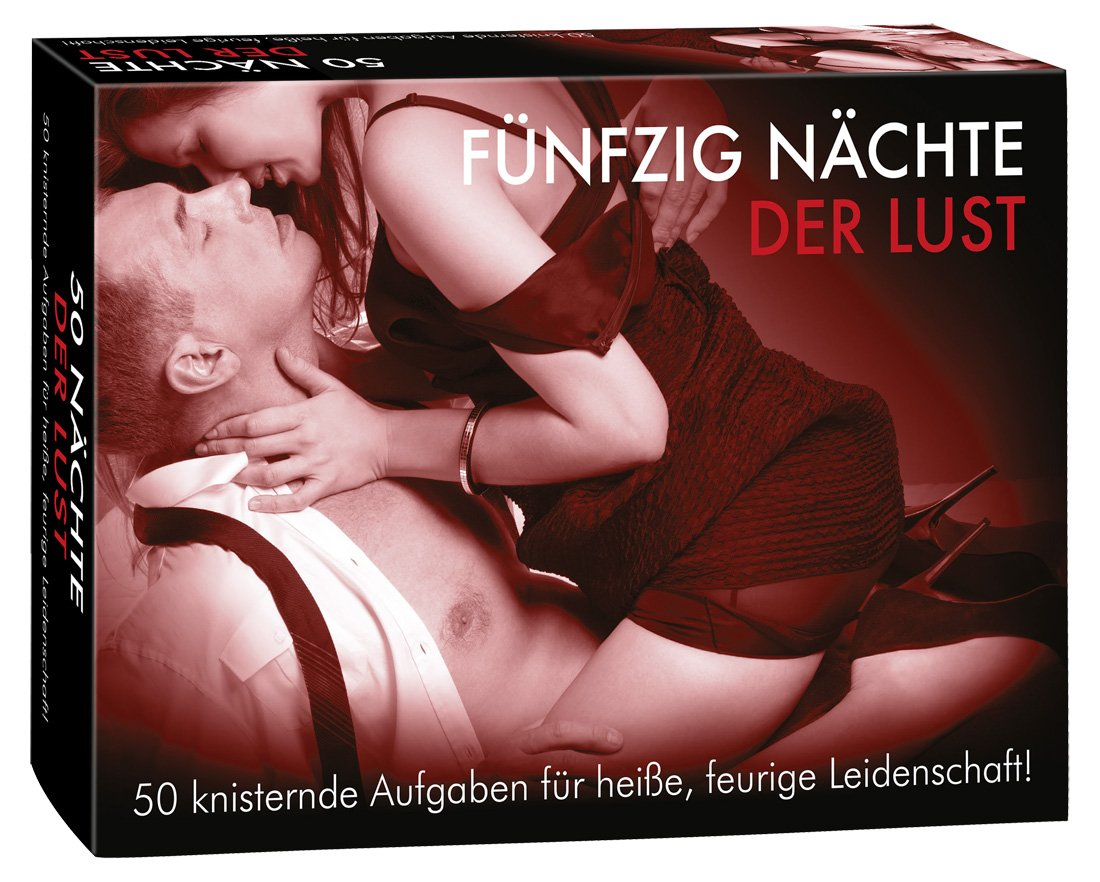 You2Toys 50 Nächte der Lust - erotisches Spiel für Paare, 50 verschiedene Umschläge mit Vorschlägen für das Vorspiel, fünf verschiedene Härtegrade 13