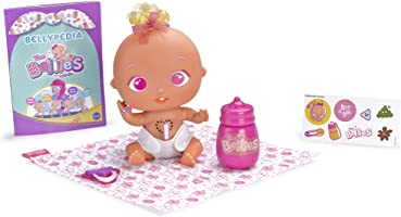 The Bellies - Pinky-Twink, muñeco interactivo para niños y niñas de 3 a 8 años (Famosa 700014563)